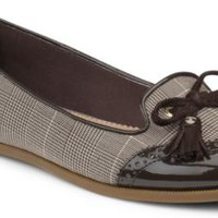 Sperry Top-Sider Harper Oxford Flat Brown/PrinceofWales, Size 11M  Women's Shoes