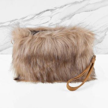 Furry Feelings Crossbody Bag