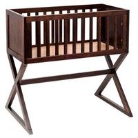 Babyletto Bowery Bassinet with Pad in Espresso