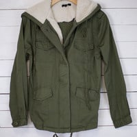 Polar Fleece Lined Coat