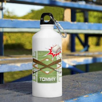 Kid's Sports Water Bottles Personalized Free