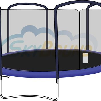 SkyBound 15 Foot Trampoline Net - Fits 15 Foot Frames with 4 Arch Enclosures