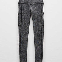 Aerie Hi-Rise Play Pocket Legging, Dark Heather