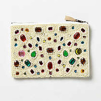 Anthropologie - Bejeweled Pearls Pouch