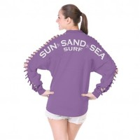 Sun Sand Sea Surf - {Slash Sleeve} Spirit Football Jersey®
