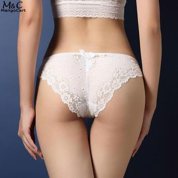 Panties Floral Lace Underwear Hollow Out Panties