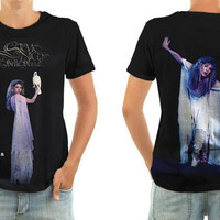 Stevie Nicks Rock and Roll Tshirt by BornRocker Brand