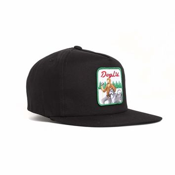 Dog Limited Best Friend Black Snapback Hat