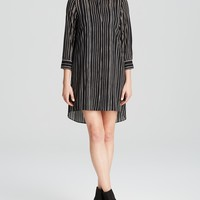 Alice + Olivia Tunic - Brit Oversize Button Down