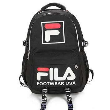 Fila  Casual Fashion Simple School Backpack Travel Bag