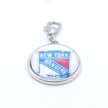 Pendant Accessories NHL New York Rangers Charms Accessories for Bracelet Necklace for Women Men Ice Hockey Fans Paty 2017