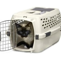 Petmate Vari Portable Fashion Travel Pet Kennel Sz: Sm 19""