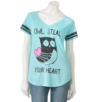 Jerry Leigh Owl Steal Your Heart Tee - Juniors