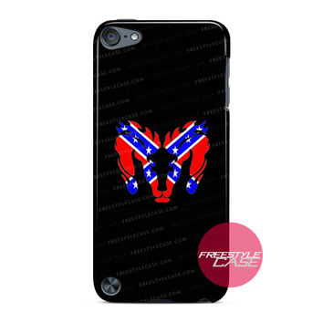 Dodge Ram Rebel Flag Flame Logo iPod Case Cover Series
