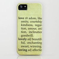 What Is Love? iPhone Case by Ally Coxon | Society6