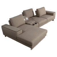 You should see this Berkeley Gramercy Left Chaise Sectional in Brown on Daily Sales!