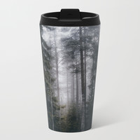Into the forest we go Metal Travel Mug by happymelvin