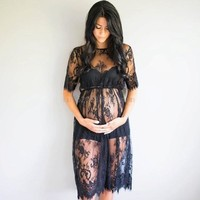 Maternity Dress Fancy Studio Clothes