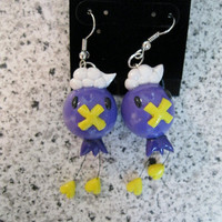 Pokemon Drifloon Earrings