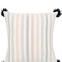 Washed Stripe Pillow, 20""