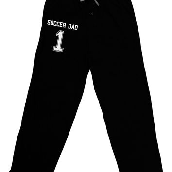 Soccer Dad Jersey Adult Lounge Pants by TooLoud