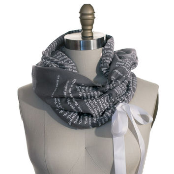 The Picture of Dorian Gray Ribbon Book Scarf
