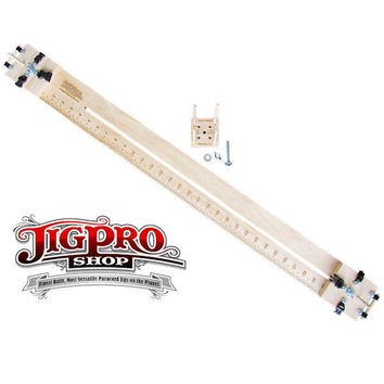 "Paracord Jig Pro Shop 30"" Professional Jig With Multi-Monkey Fist Jig"