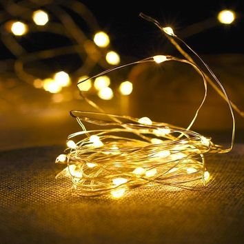 Copper Wire LED String Camper Van Decorating Lights