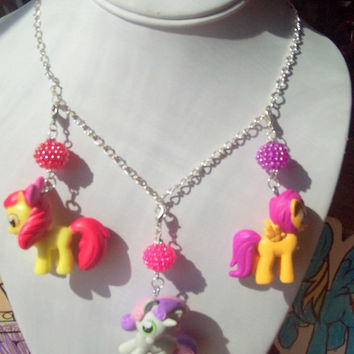 My Little Pony Cutie Mark Crusaders Necklace