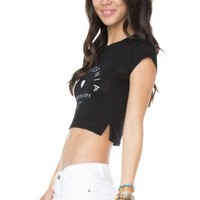 Brandy ♥ Melville |  Carolina Paradise Cove Top - Graphic Tops - Clothing