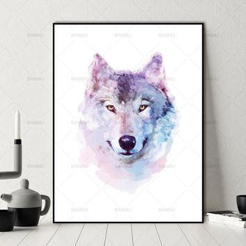 Canvas Painting Wall art Picture wall painting art canvas Picture decor poster animals art print on canvas Wall Picture no frame