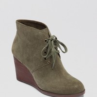 Lucky Brand Wedge Booties - Lace Up | Bloomingdale's