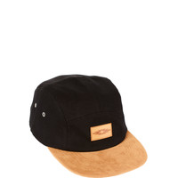 ASOS 5 Panel Cap with Tan Contrast Peak