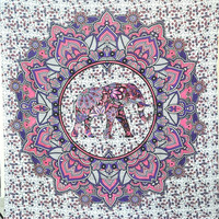 Indian Hippie Elephant Tapestry Wall Hanging Tapestries Boho Wall Carpet Beach Towel Yoga Mat Bedspread Throw Rug Blanket Decor
