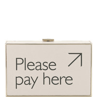 Please Pay Here Imperial Clutch