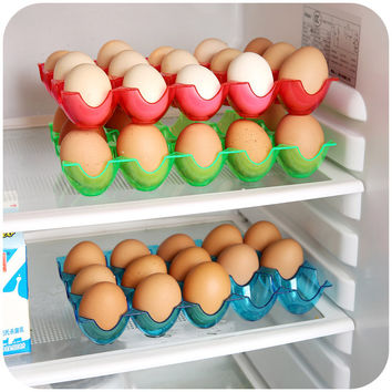 Box/Crate/ Rack Egg Dispenser for Refrigerator Egg Storage Box