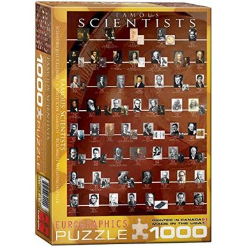 EuroGraphics Famous Scientists 1000 Piece Puzzle