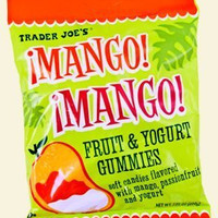 4 PACKS Trader Joe's Mango! Mango! Fruit Yogurt Gummies