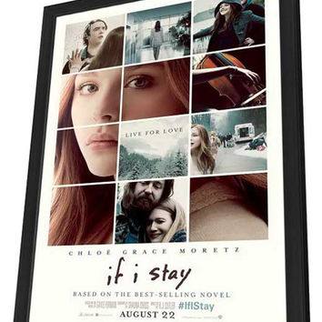 If I Stay 11x17 Framed Movie Poster (2014)