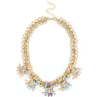 Crystal Rainbow Collar