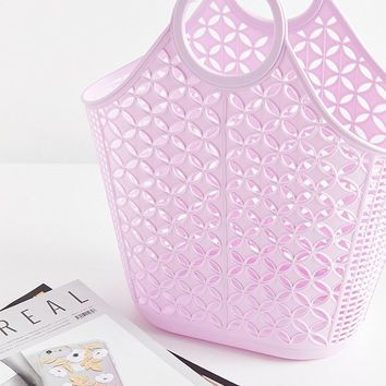Sun Jellies Atomic Basket Tote Bag | Urban Outfitters
