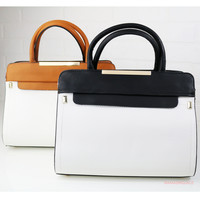 Alpharetta Springs Two Tone White Purse