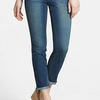 Women's Jessica Simpson 'Forever' Roll Cuff Crop Skinny Jeans ,