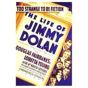 The Life of Jimmy Dolan Poster//The Life of Jimmy Dolan Movie Poster//Movie Poster//Poster Reprint