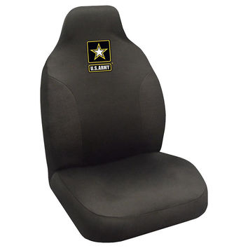 US Army Armed Forces Polyester Embroidered Seat Cover