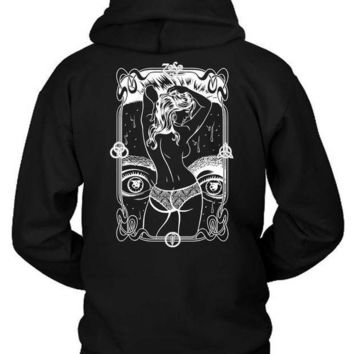 Led Zeppelin Og Hoodie Two Sided