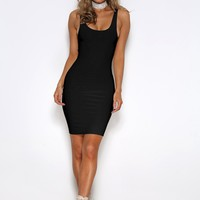 Carly Dress- BLACK
