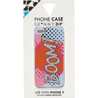 River Island Womens Orange Skinnydip boom iPhone 5 case