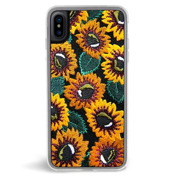 Sunny Embroidered iPhone X Case