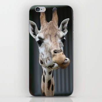 Deep thinking iPhone & iPod Skin by abeerhassan